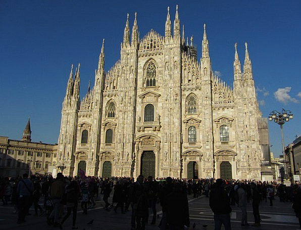 Cathedral Church Buildings Architecture Milan Duom