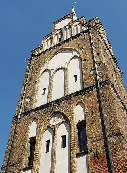 Hanseatic City Element Rostock Brick Tower Barbica