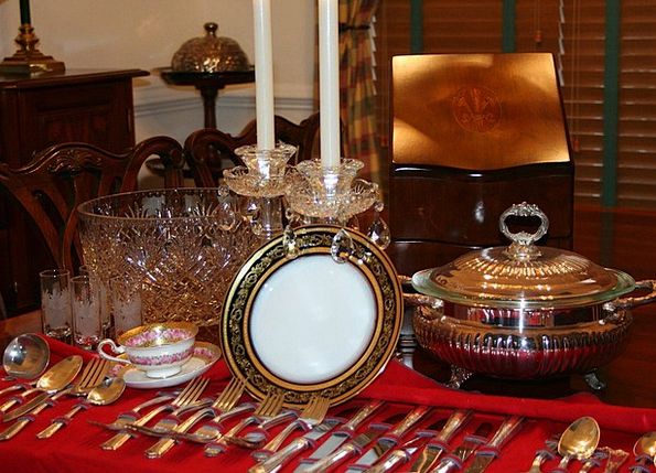 Cutlery Flatware China Porcelain Crockery Tablewar
