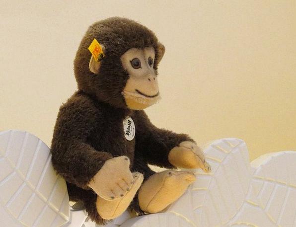 Monkey Ape Steiff Animals Äffchen Soft Steiff Tier
