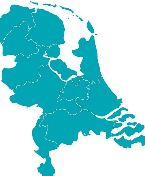 Holland Europe Map.Netherlands Vacation Travel Map Chart Holland Europe Travel