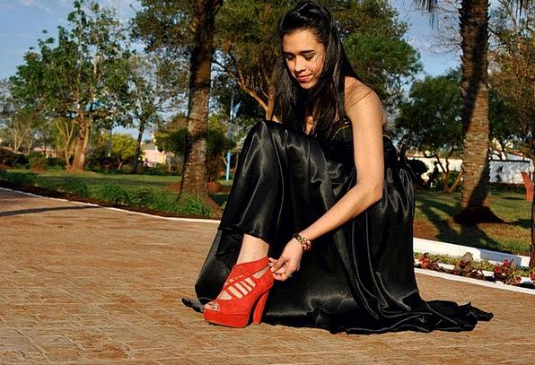 Shoe Black Dress Red Shoe Outdoors Footwear Red Fe