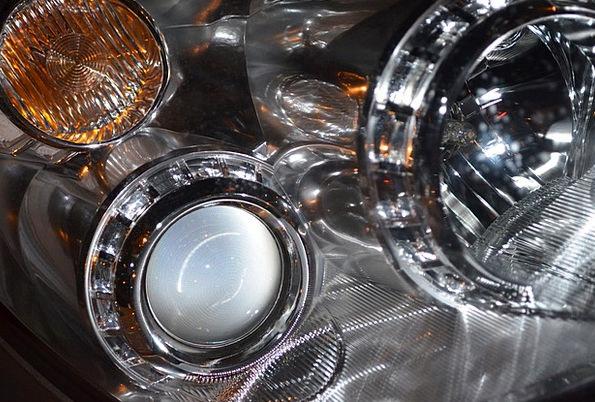 Headlamp Traffic Bright Transportation Design Proj