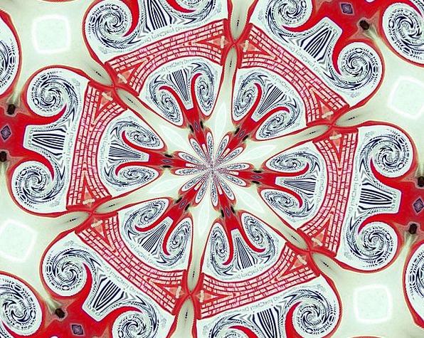 Kaleidoscope Phantasmagoria Textures Contextual Ba