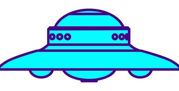 Ufo Science Discipline Spaceship Saucer Alien Unfa