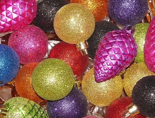 Christbaumkugeln Magenta.Glaskugeln Life Christbaumkugeln Sparkle Christmas Ornaments