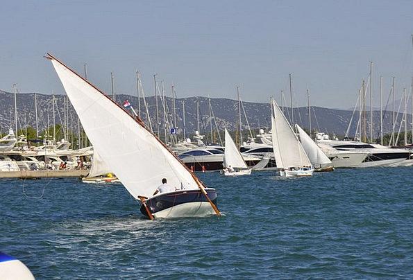 Croatia Gumboot Sail Navigate Boot Sailing Vessel