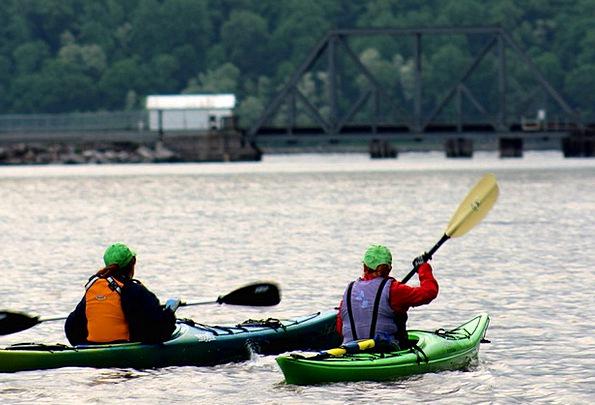 Kayak Boat Ship Kayaker Oar Paddle Summer River Sp