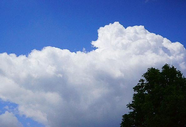 Sky Landscapes Azure Nature Clouds Vapors Blue Whi