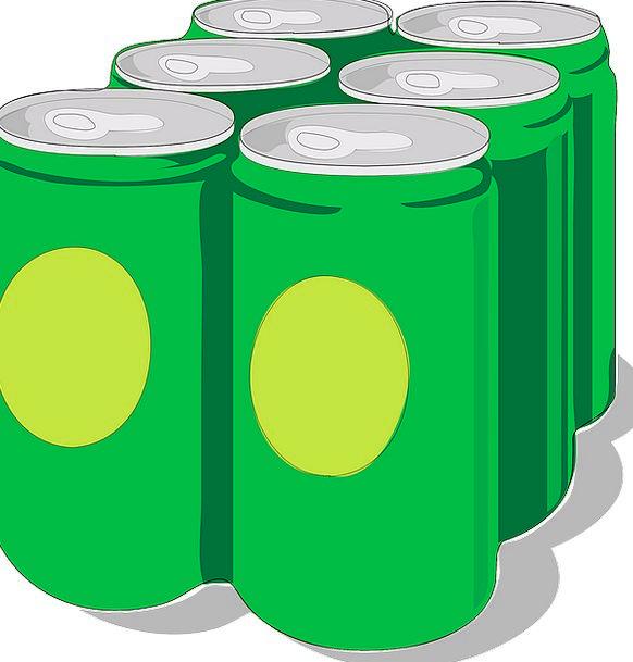 Six Pack Drinks Snacks Beverages Packaging Soda Be