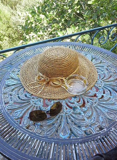 Sun Hat Served Helped Sun Glasses Holiday Sun Brea