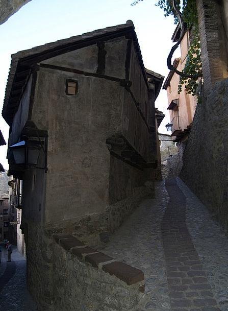 Albarracín Medieval Feudal House Santiago