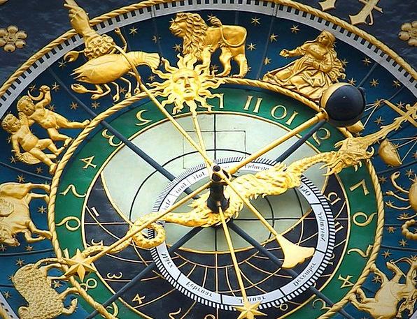 Astronomical Clock Timepiece Time Period Clock Isa