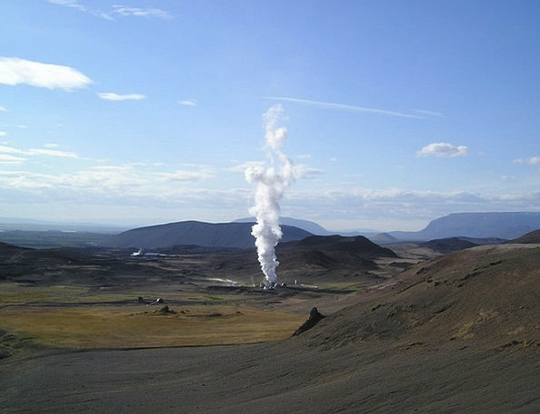 Geothermal Vigor Power Plant Energy Regenerative R