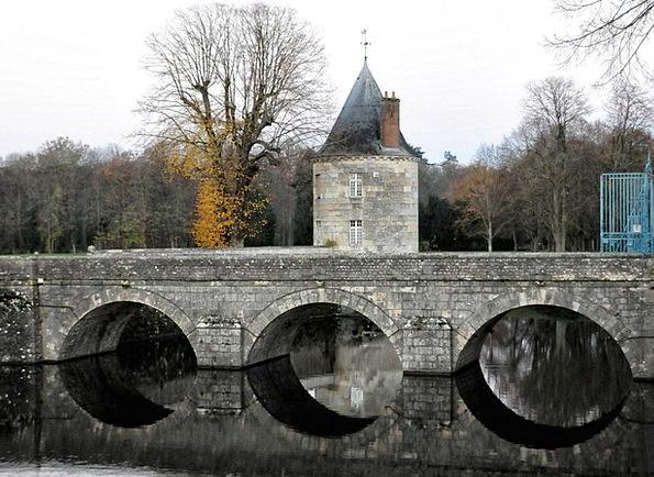 Bridge Bond Fortress Stone Arch Castle Moat Ditch