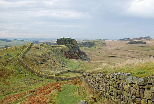 England Landscapes Nature Hadrian'S Wall Great Bri