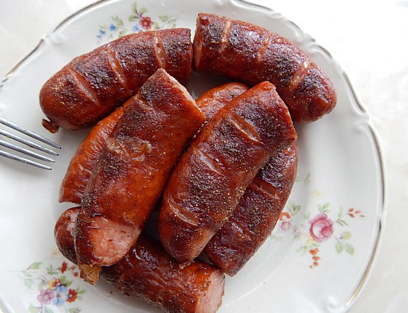 Sausage Drink Consumption Food Grill Grate Eating