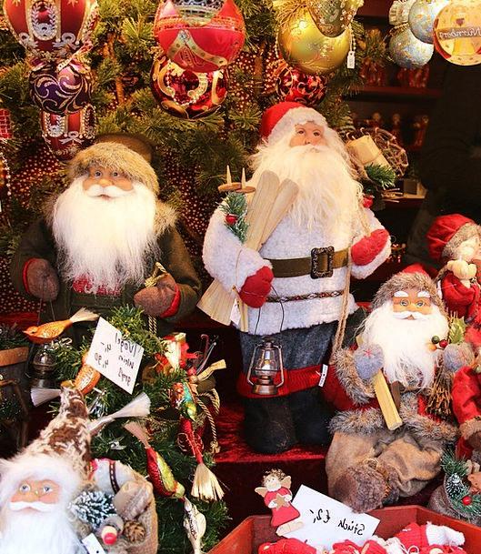 Santa Claus Nuremberg Nicholas Christmas Market Ch