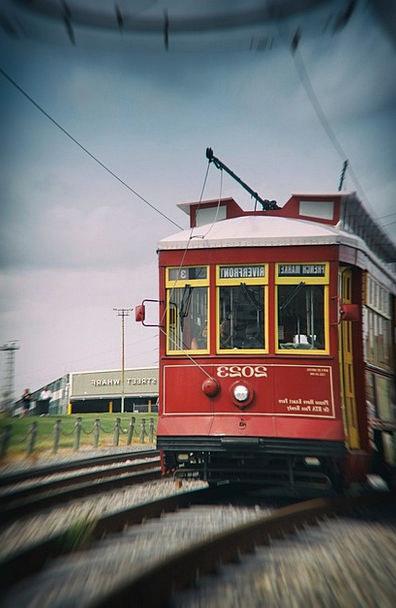 Train Pullman Traffic Transportation French Quarte