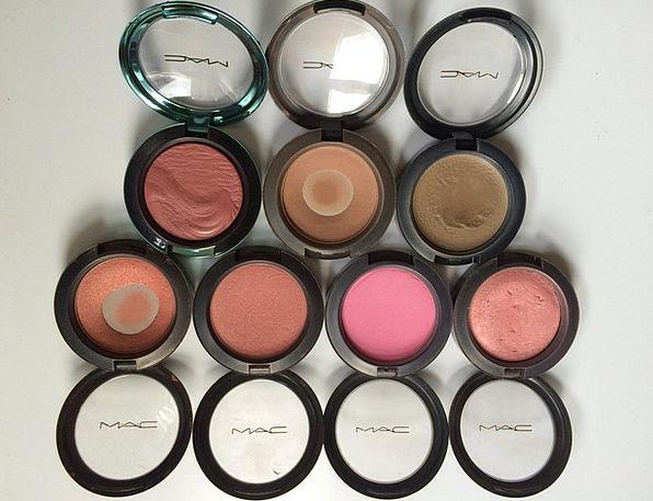 Blusher Rouge Greasepaint Cosmetics Makeups Makeup