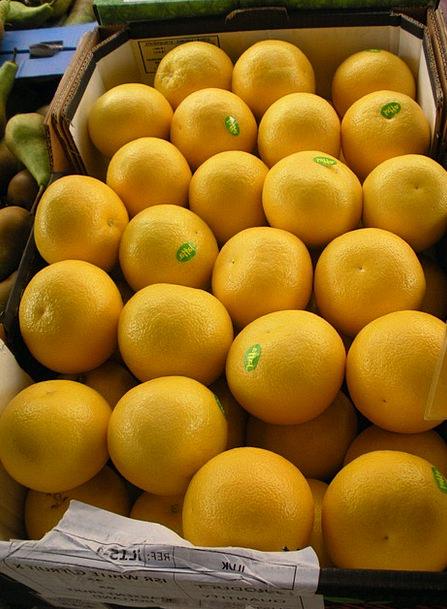 Greengrocer Drink Food Grapefruit Fruit Crate Fres