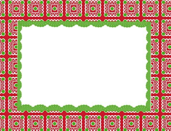 Frame Edge Textures Design Backgrounds Christmas F