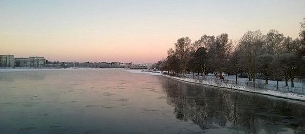 River Stream Oulu Finland Oulu River