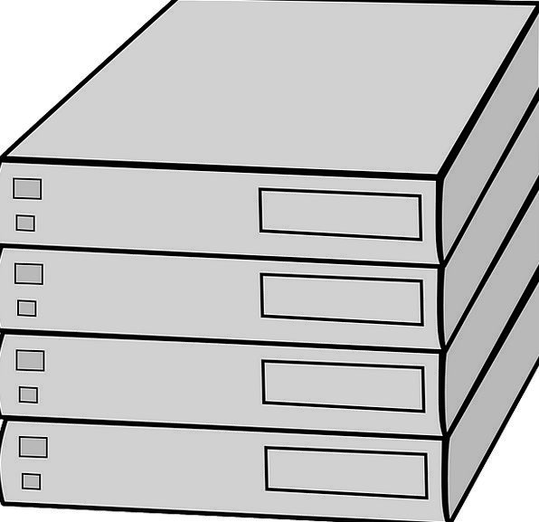 Server Waiter Racked Beset Hardware Data Stacked L