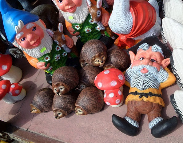 Gnome Elf Burgeon Toy Doll Mushroom