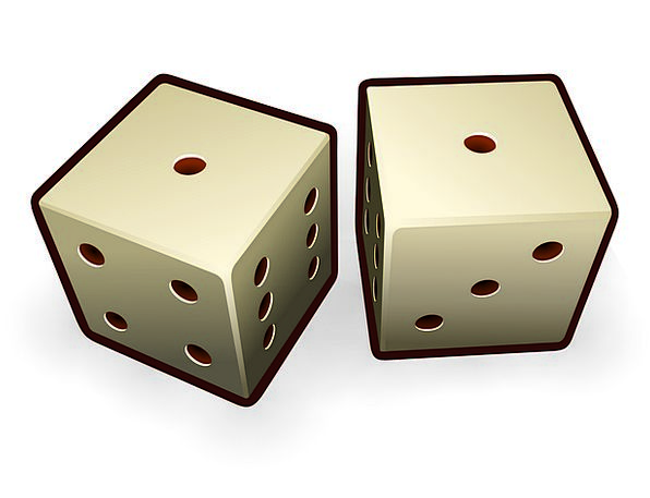 Dice Cube Wager Rolling Progressing Gamble Pair Co