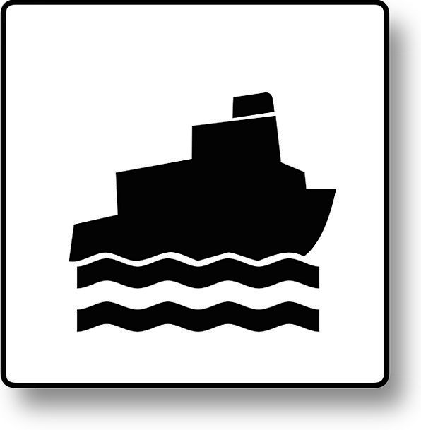 Boat Sign Ferry Sign Ship Sign Ship Vessel Oceango