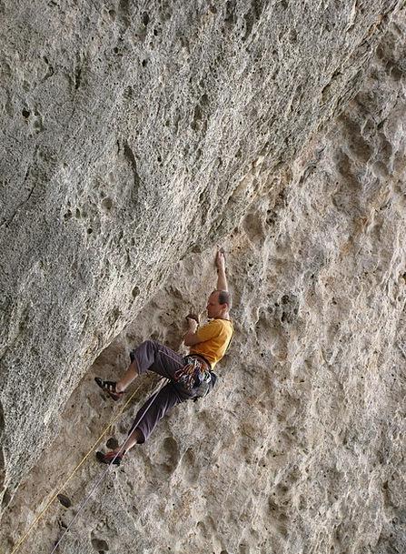 Climber Hiker Climb Hike Sport Climbing Rock Pilla