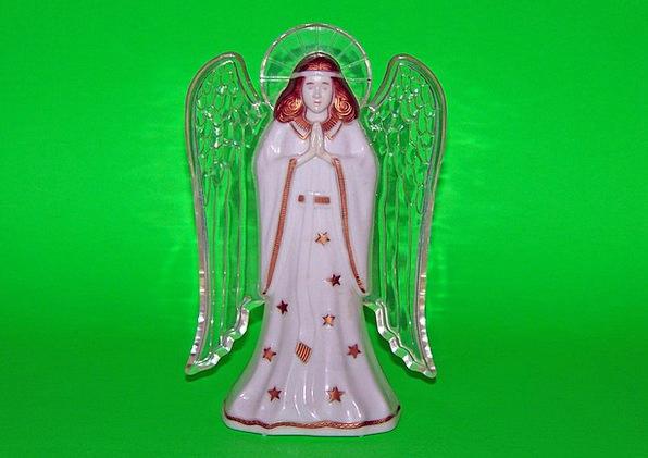 Angel Seraph Malleable Christmas Plastic Xmas Tree