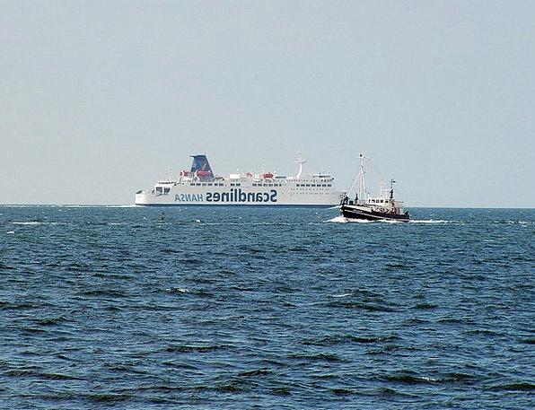 Rügen Island Ship Ships Vessels Ferry Baltic Sea S