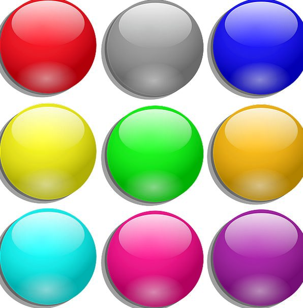 Marbles Wits Interesting Round Rotund Colorful Sph