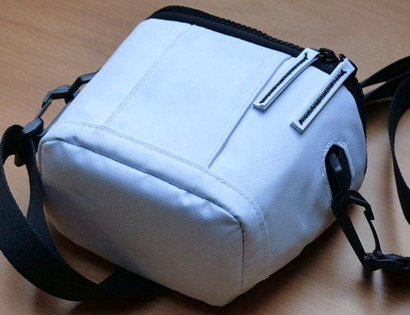 Photo Bag Basket White Snowy Bag Zip Energy Camera