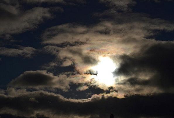 Rainclouds Mists Cloudy Overcast Sun Rain Volley R