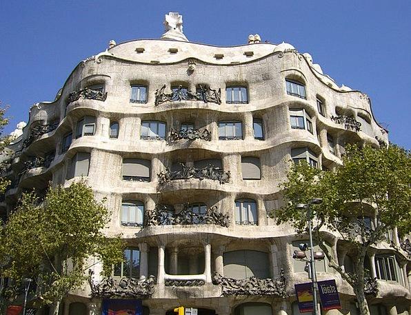 Spain Buildings Architecture Gaudí Barcelona Archi