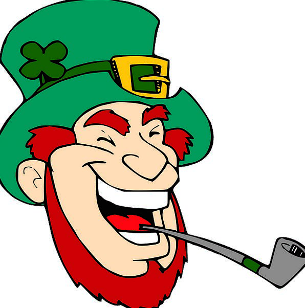 Leprechaun Sprite Smiling Fairy Pixie Laughing Pip