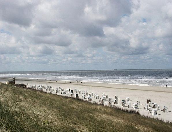 Spiekeroog Vacation Seashore Travel Coast Shore Be