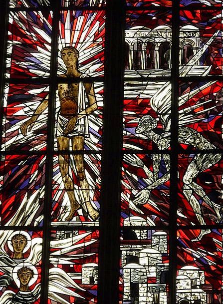Church Window Colorful Interesting Glass Window Ch
