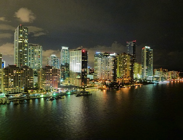 Miami Buildings Architecture Skyline Horizon Flori