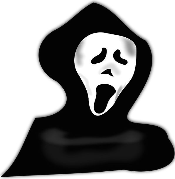 Ghost Flicker Clothing Scare Fright Costume Vampir