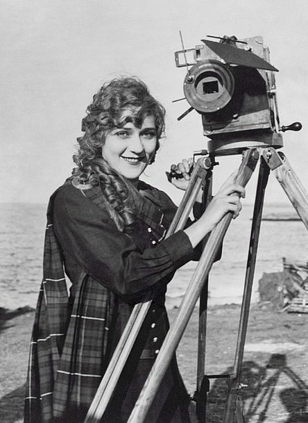 Mary Pickford Actress Performer Canadian American