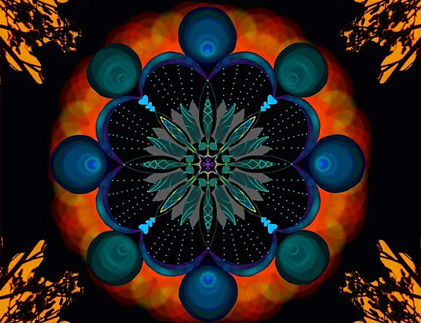 Ornament Decoration Textures Backgrounds Pattern D