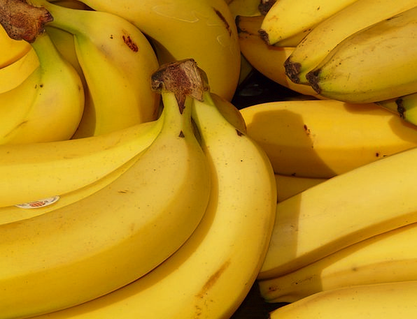 Banana Drink Ovary Food Healthy Fit Fruit Yellow C