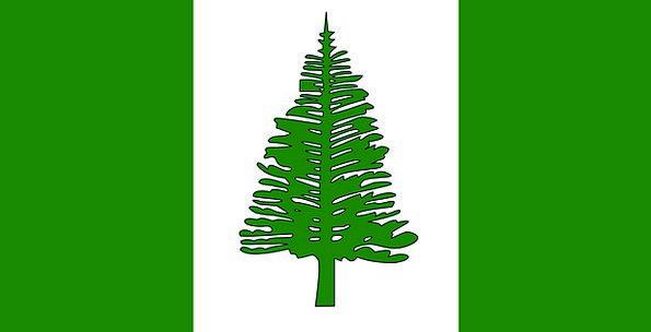 Norfolk Island Standard Territory Land Flag Self-G
