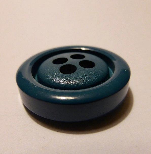Button Key Fashion Lime Beauty Blue Azure Green Pl