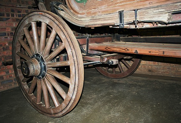 Wagon Wheel Traffic Helm Transportation Round Rotu