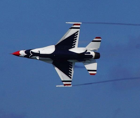 Aircraft Airplane Air Midair Thunderbirds Military